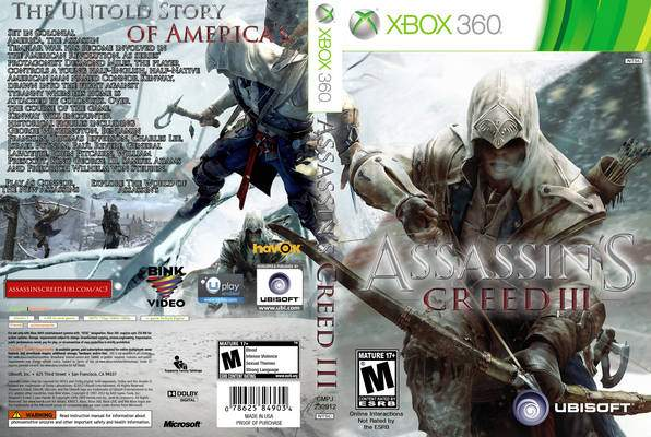 Assassin S Creed 3 Assassin Creed